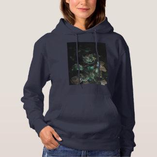 Gothic rose hoodie