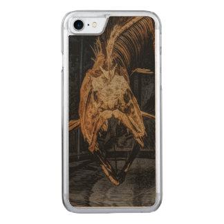 Gothic sea creature skeleton carved iPhone 8/7 case