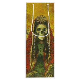 Gothic Skeleton Decorative Wine Bag