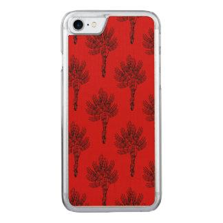 Gothic Skeleton Flower Pattern Art Carved iPhone 8/7 Case