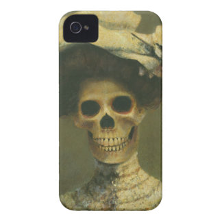 Gothic Skeleton  iPhone 4 case-mate Barely There