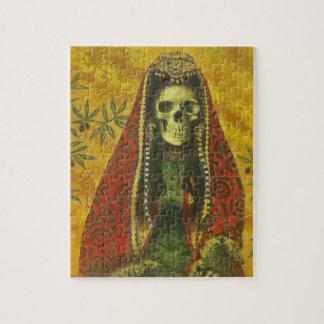 Gothic Skeleton Jigsaw Puzzle