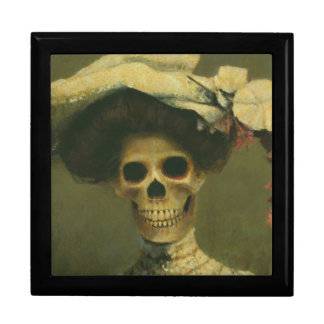 Gothic Skeleton Lady Gift Box