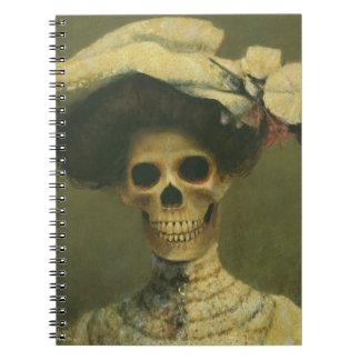 Gothic Skeleton Lady Notebook