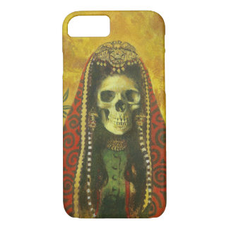 Gothic Skeleton Witch iPhone 7 case