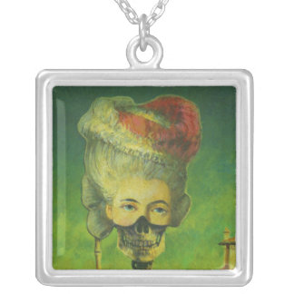 Gothic Skeletpon Necklace