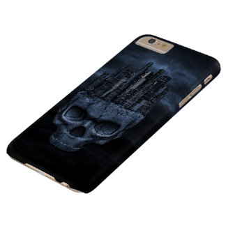 Gothic Skull City Barely There iPhone 6 Plus Case