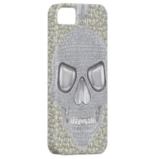 Gothic Skull Diamonds Print Case For The iPhone 5