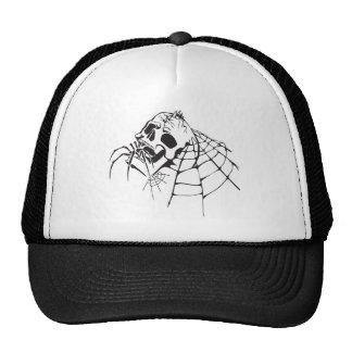 Gothic Skull Trucker Hats