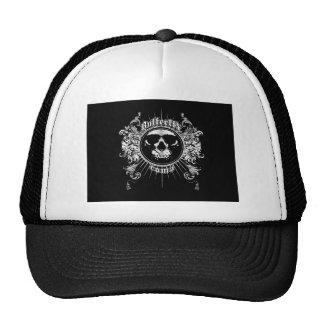 GOTHIC SKULL TRUCKER HAT