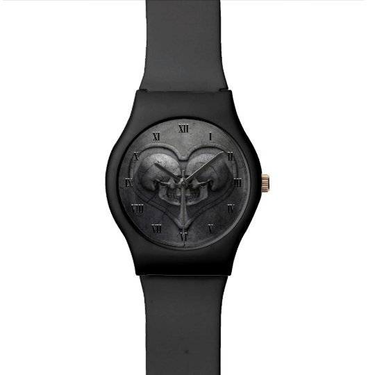 Gothic Skull Heart May28th Watch