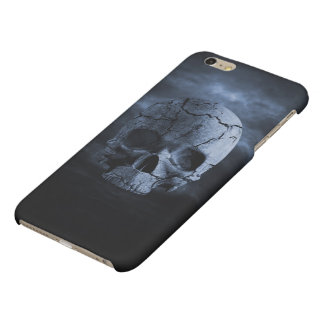 Gothic Skull Matte iPhone 6 Plus Case