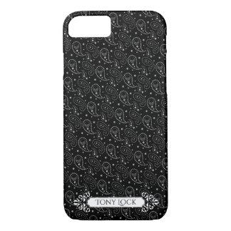 Gothic Skull Paisley Pattern iPhone 8/7 Case