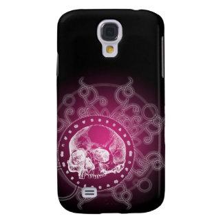 Gothic Skull Pink Galaxy S4 Case