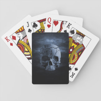 Gothic Skull Playing Cards