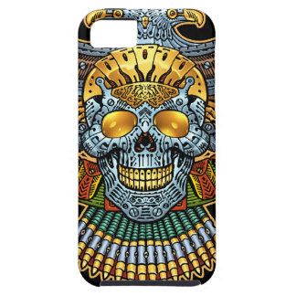 Gothic Skull with Guns and Bullets by Al Rio Case For The iPhone 5