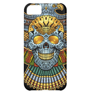 Gothic Skull with Guns and Bullets by Al Rio iPhone 5C Case