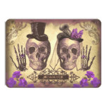 Gothic Skulls Day of The Dead Save the Date Cards 11cm X 16cm Invitation Card