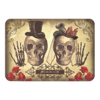 Shop Zazzle's selection of gothic wedding invitations for your special day!