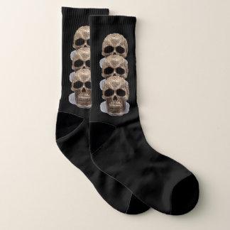 Gothic Skulls Socks