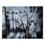 Gothic Snow Poster