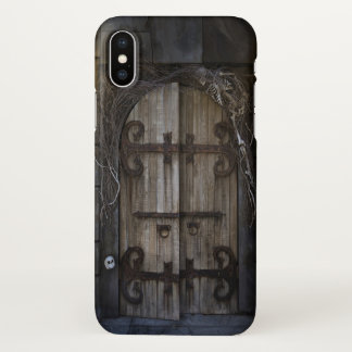 Gothic Spooky Door Zazzle iPhone X Case