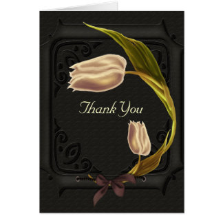 Gothic Spring Thank You Cards
