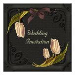 Gothic Spring Wedding Invitations