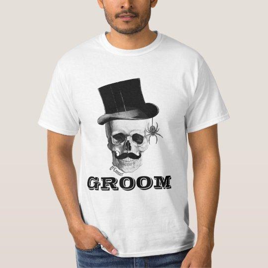 Gothic steampunk groom T-Shirt
