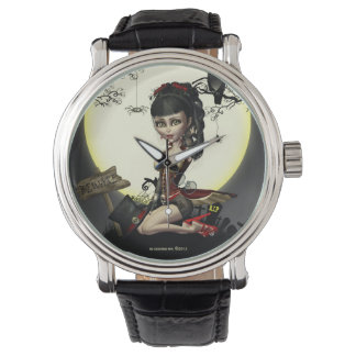 Gothic Steampunk Lolita Girl Wrist Watch