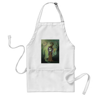 Gothic Steampunk Witch Standard Apron