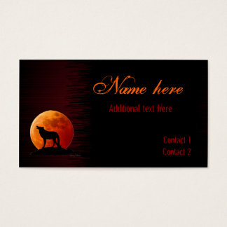 Gothic style Business Card