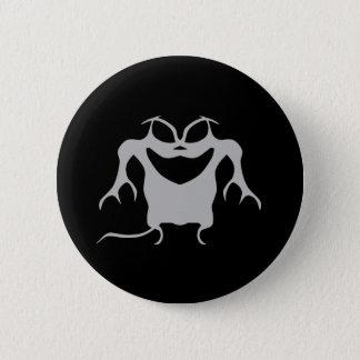Gothic style Halloween creature 6 Cm Round Badge