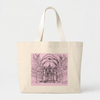 Gothic synagogue in NYC Tote Bags