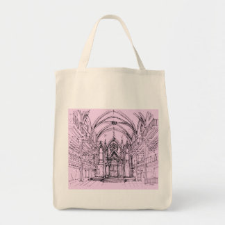 Gothic synagogue in NYC Bag