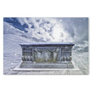 Gothic tomb tissue paper