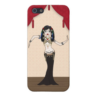 Gothic Tribal Fusion Bellydancer in Stage Scene iPhone 5 Case
