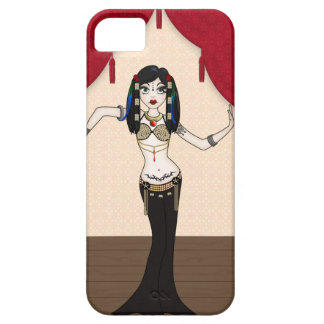 Gothic Tribal Fusion Bellydancer in Stage Scene iPhone 5 Covers