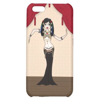 Gothic Tribal Fusion Bellydancer in Stage Scene Cover For iPhone 5C
