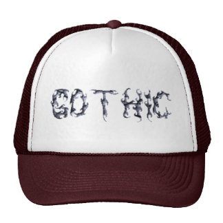 Gothic Trucker Mesh Hats
