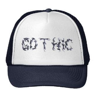 Gothic Trucker Mesh Hat