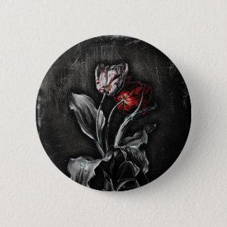 Gothic Tulips 6 Cm Round Badge