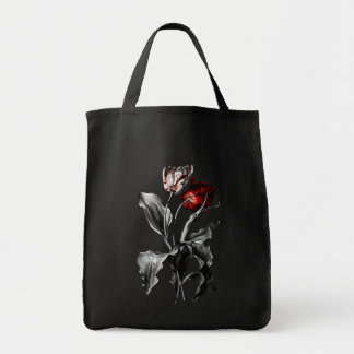 Gothic Tulips Tote Bag