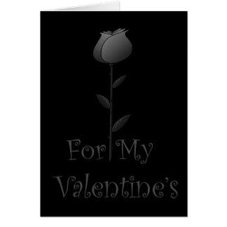 Gothic Valentine Greeting Card