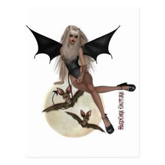 * Gothic - Vampire Chic Postcard