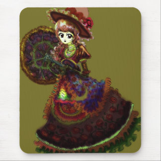 Gothic Victorian Anime Vampire Medieval Vintage Mousepad