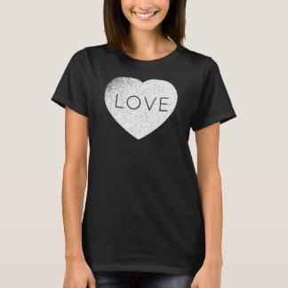 Gothic Weathered Custom Love T-Shirt