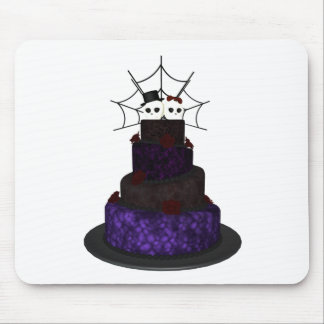 Gothic wedding mouse mat