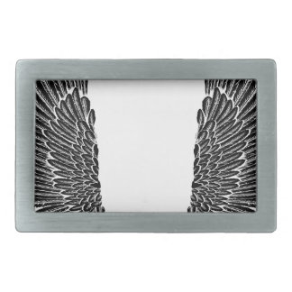 Gothic Wings Belt Buckle