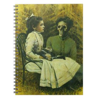 Gothic Wolf Child Notbook Notebook